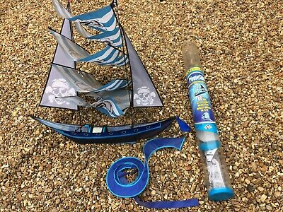Pirate Ship 3D Super Sized Kite With Packaging And Instructions • 30£