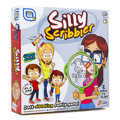 Silly Scribbler Pencil On Nose Drawing Game Guess Draw Picture 🌟As Seen On TV🌟 • 19.99£