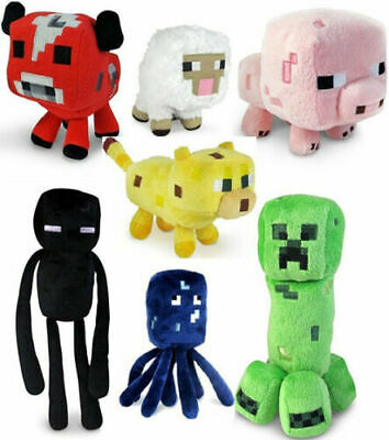 Soft Plush Toys Minecraft Stuffed Animals Plush Kids Xmas Birthday Toys Gifts UK • 5.79£