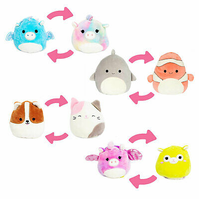 Squishmallows Plush 5-Inch Flip-A-Mallows *Choose Your Favourite* • 9.99£
