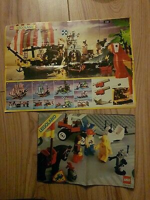 2 Vintage Lego Catalogues Booklets From The Eightees • 3.50£