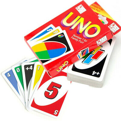 Uno Card Game 108 Playing Cards Classic Family Fun Travel Party Xmas Gift New  • 2.25£