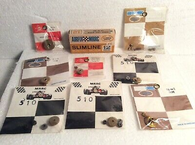Airfix MRRC 1/32 Slotcar Unopened Spares, Gears, Brushes And Motor 1002 • 10.50£