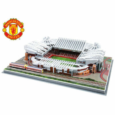 New 3d Manchester United Old Trafford Replica Football Stadium 186pc Puzzle Gift • 6.99£
