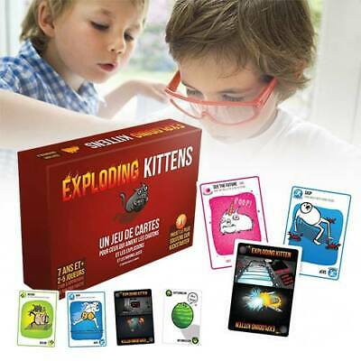 Exploding Kittens Sealed 24hr Dispatch Card Game Brand New • 9.77£