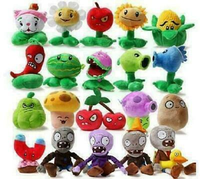 PLANTS Vs.ZOMBIES Popular Game Soft Plush Toys Stuffed Doll Kid Baby Gifts UK • 4.37£