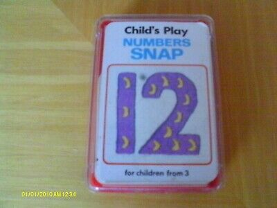Child's Play - Numbers Snap - Complete • 7£