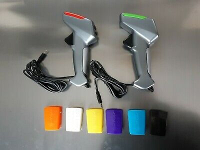 2x SCALEXTRIC DIGITAL Hand Controller Throttle Inc 8 Colour Tops BRAND NEW C7002 • 15.50£