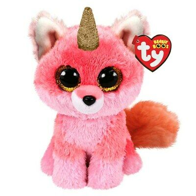 Ty Beanie Babies Boos Fay Fox Claires Exclusive Plush Soft Toy New With Tags     • 9.95£