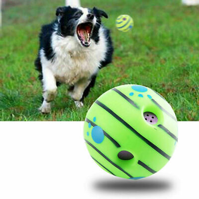Dog Toys Interactive Large Pet Gift Giggle Ball Sound Interesting Puppy Funny UK • 11.99£