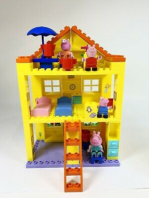 Peppa Pig House Construction Set - Duplo Compatible - FREE POSTAGE!!! • 27.99£