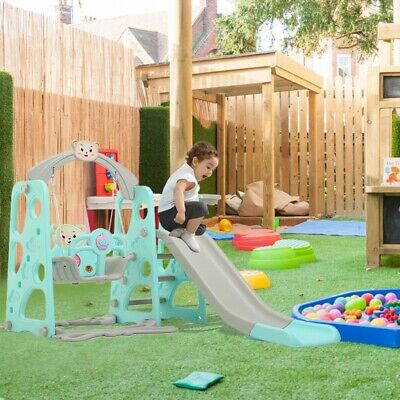 Toddler Mountaineering And Swing Set Suitable For Indoor Backyard Baskets UK • 99.99£