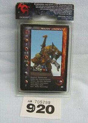 Rackhams Confrontation - Wolfen Of Yllia - Lone Wolf 2 Solitaire • 12.99£