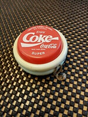 Genuine Russell Super Spinner Enjoy Coca-Cola Coke Professional Yo-Yo  • 22£