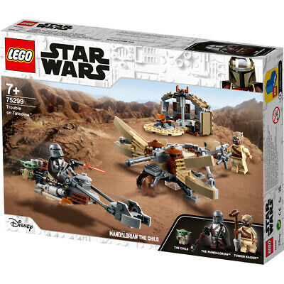 Lego Star Wars The Mandalorian Trouble On Tatooine Building Set - 75299 • 34.99£
