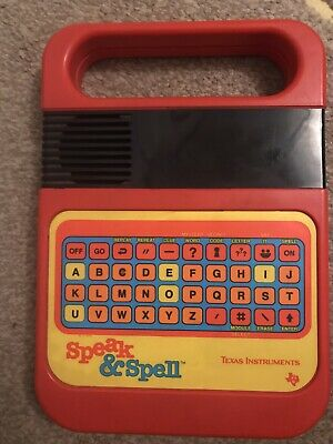 Speak And Spell By Texas Instruments, Good Condition • 21£