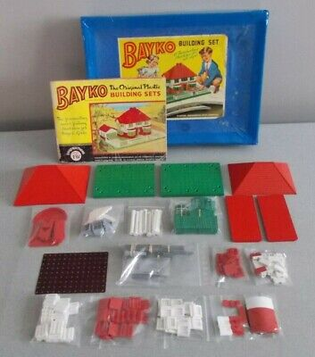 BAYKO, COMPLETE SET No 2, WITH AN ARCH & OTHER EXTRAS. • 25£