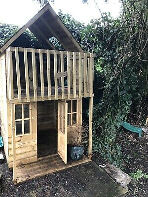 Childrens Outdoor Wooden Playhouse • 21.80£