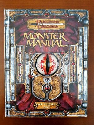 Dungeons And Dragons D&D Monster Manual - Version 3.5 • 18.30£