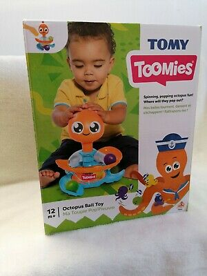 Tomy Toomies Octopus Ball Toy • 8£