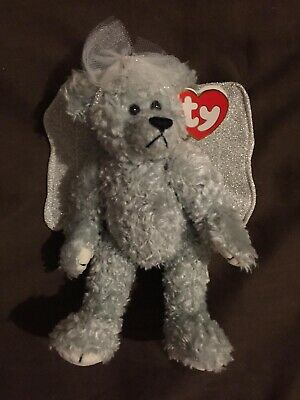 TY Sterling The Silver Angel Bear From The Attic Treasures Collection Christmas • 13.99£