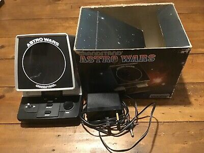 Boxed Grandstand Astro Wars Vintage 1981 Tabletop Electronic Game  • 48£
