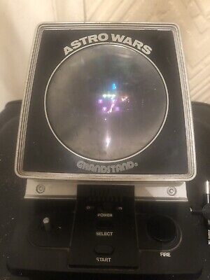 Grandstand Astro Wars 1981 Video Game Working. • 45£