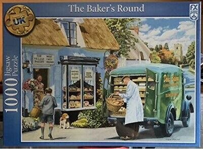 FX Schmid By Ravensburger 1000 Piece Jigsaw Puzzle The Bakers Round New & Sealed • 12.99£