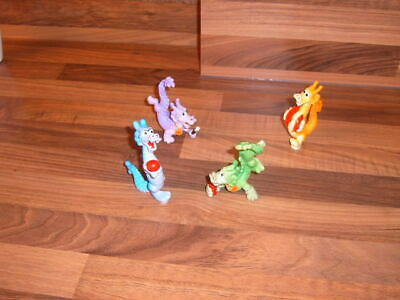 Set Of 4 Loose McDonalds Dragonettes 1993 Toys • 1.50£