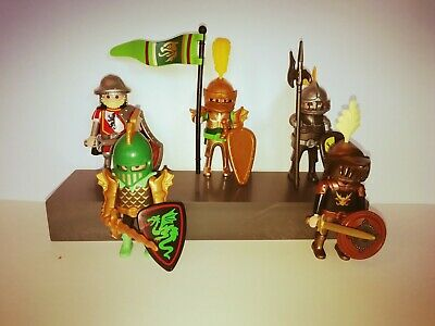Playmobil - 5 Mixed Elite Knights With Accessoriess • 9.99£