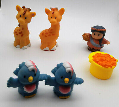 Fisher Price Little People Spare Noah's Ark Animals. Noah's Wife  & Accesssory  • 4.99£
