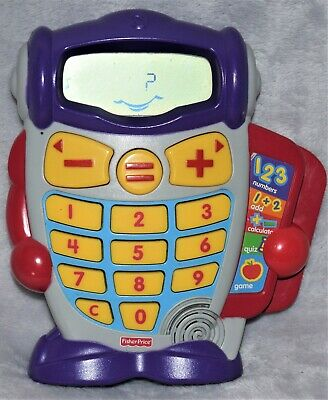 Fisher Price Calcubot, Calculator  Age 3-7 ,Fully Working ,Good Condition • 2.89£