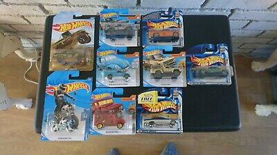 Hotwheels Joblot Unopened X 9 • 15.50£
