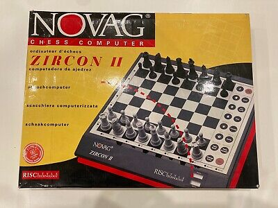 Novag Zircon II Chess Computer VERY RARE - COLLECTORS ITEM • 295£