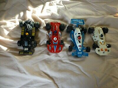 4 X Old Scalextric Cars • 10£