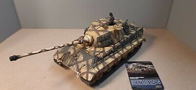Forces Of Valour 1/32 German King Tiger Tank ,Germany 1945 Excellent Condition • 60£