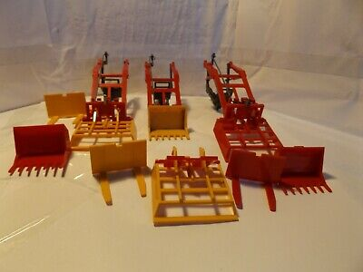 Britains Farm 3 Tractor Loaders  • 25£