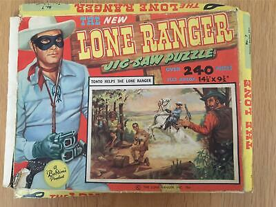 Vintage Lone Ranger Jigsaw Puzzle 240+ Pieces  - BUT - One Piece Missing (A) • 8£