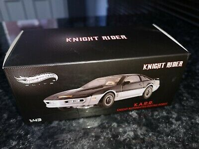 Hot Wheels Elite BCT87 Knight Rider KARR 1/43 Scale RARE • 40£