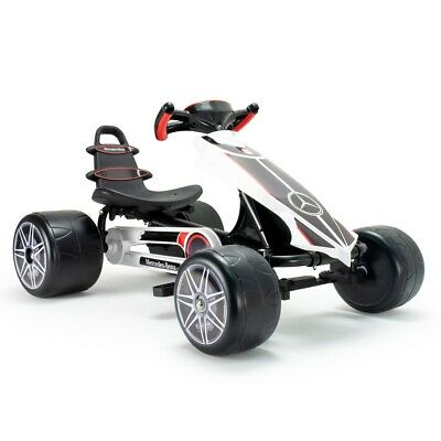 Plum Clearance *Returned/Good Condition* - Mercedes Pedal Go Kart Ride On Car... • 84.49£