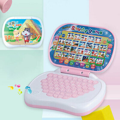 Laptop English Learning Computer Pre School Toys Gift Boy Girl Baby Child Kid UK • 6.89£