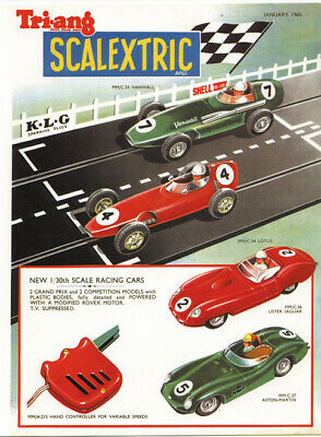 Scalextric  Catalogue   No' 1 • 15£