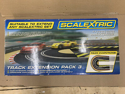 Scalextric C8512 Track Extension Pack 3 - Hairpin Curve 1:32 Scale Accessory • 9.99£
