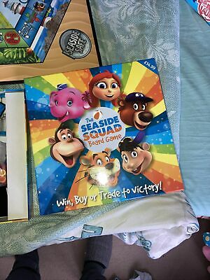 Haven Seaside Squad Rory Anxious Funstars Entertainment Childrens Board Game • 7£