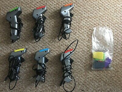 Scalextric Hand Controller Throttle (6 AVAILABLE) + Colour Tops • 10£