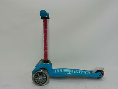Micro Scooters Mini Micro Deluxe Scooter MMD001 Kids Outdoor Custom Aqua# • 4.99£