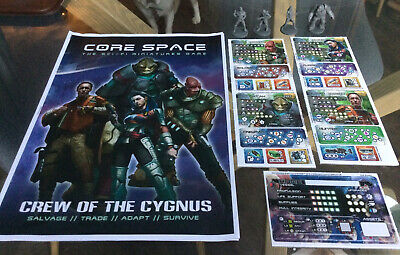 Crew Of The Cygnus - Core Space, Sci-Fi Miniature Game By Battle Systems • 12£