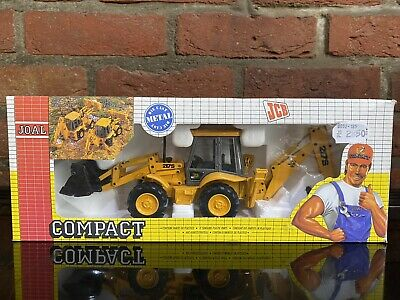 Joal Compact JCB 217S Loader With Centremount Backhoe 1:35 Scale Ref 185 • 10£