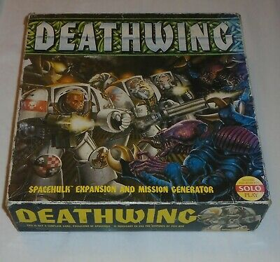 DEATHWING Games Workshop 1989 Classic Space Hulk Expansion Box Only • 29£