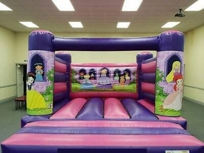 Outstone Inflatables Interchangeable Artwork Castle 2 Sets Of Artwork • 750£